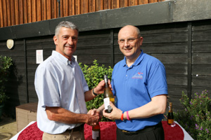 一England Squash Referee Paul Clarke (Presented by Peter Alexander)