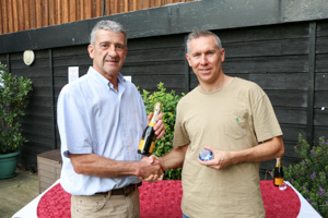 MO40 2nd Jonathan Gliddon (Presented by Peter Alexander)