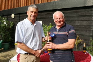 MO70 1st Adrian Wright (Presented by Peter Alexander)