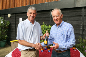 MO70 2nd Graham Fisher (Presented by Peter Alexander)