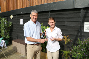 WO50 2nd Tamsin Bennett (Presented by Peter Alexander)