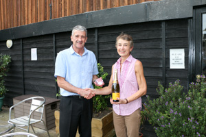 WO55 1st Jill Campion (Presented by Peter Alexander)
