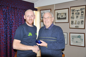 MO35 1st James Bowden (Presented by Bob Townsend)
