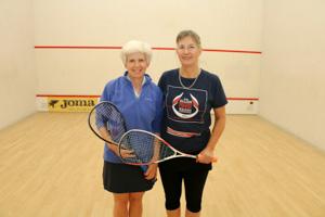 WO55 Match 5 Rebecca Moore and Lesley Sturgess