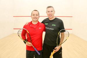 MO40 Finalists Paul Boyle and Jonathan Gliddon