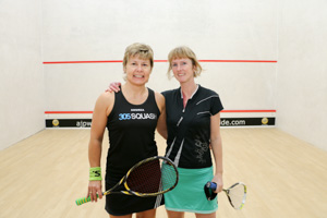 WO45 Finalists Andrea Santamaria and Isabelle Tweedle