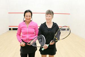 WO55 Finalists Lynne Davies and Julie Field