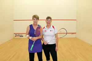 WO55 Match 6 Karen Hume vs Lesley Sturgess