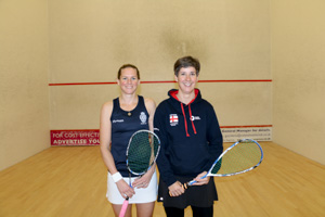 WO40-45 Finalists Shayne Baillie and Sarah Parr