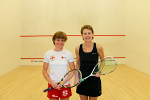 WO50 Finalists Pippa Green and Tamsin Bennett