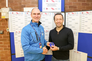 MO40 2nd Michael Harris (Presented by Marc Hughes)