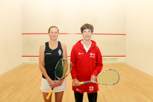 WO40 Finalists Shayne Baillie and Sarah Parr