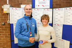 WO50 2nd Pippa Green (Presented by Marc Hughes)