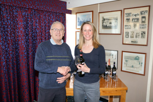 WO35 2nd Kate Bradshaw (Presented by Bob Townsend)
