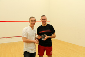 MO40 2nd Jonathan Gliddon(Presented by Andrew Mulvey)
