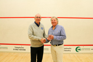 MO70 1st Chris Ansell (Presented by Ron Stevenson)