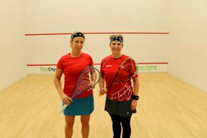WO35-40 Finalists Hannah Wright-Davies vs Krissy Burkin