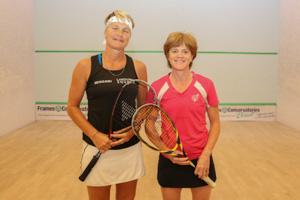 WO50 Finalists Fran Wallis vs Pippa Green