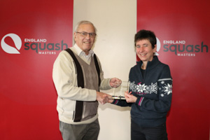 WO55 2nd Sarah Howlett (Presented by Bob Townsend)