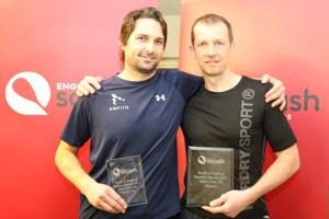 MO40 Finalists Ben Hutton and Michael McLaughlin