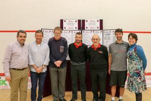 一Brian Brock, Stuart Hardy the Referees (Colin, Andy, Brian), Hadrian Stiff Rosalind Brock